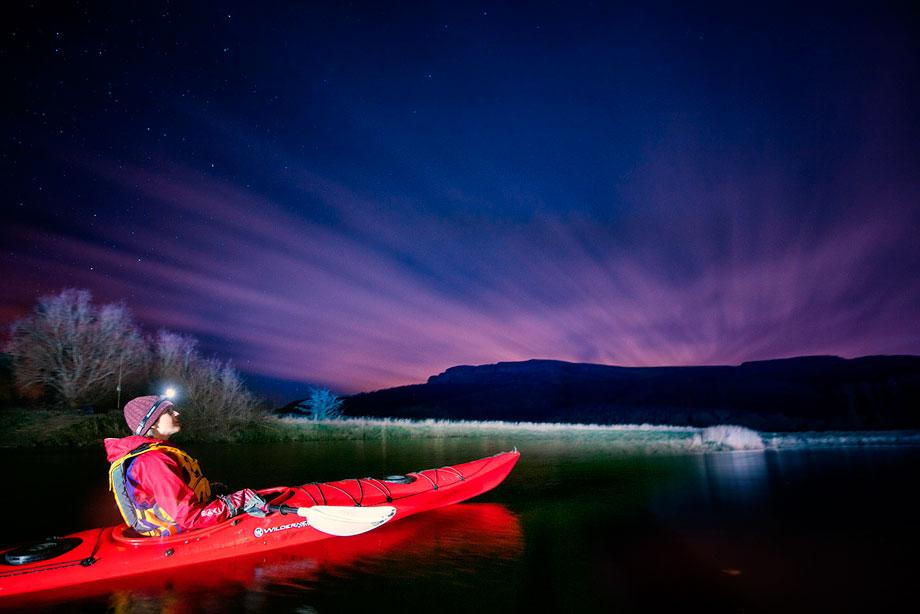 moonlight kayaking derry ireland