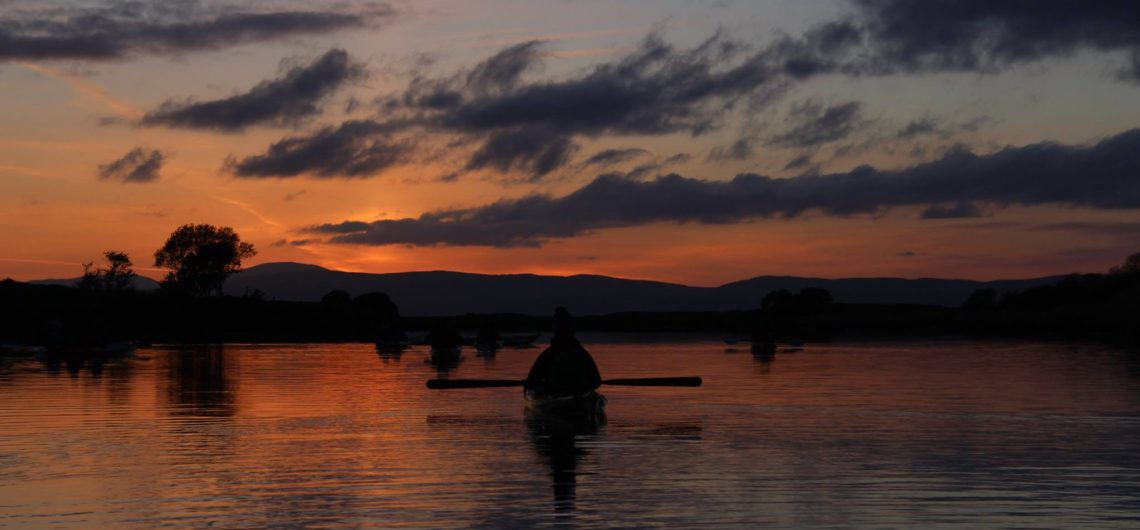 moonlight kayaking ireland