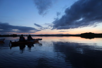 moonlight kayak tour ireland