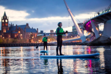 city paddle boards