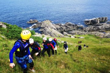 wild atlantic way coasteering