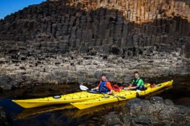 giants causeway sea kayaking experience