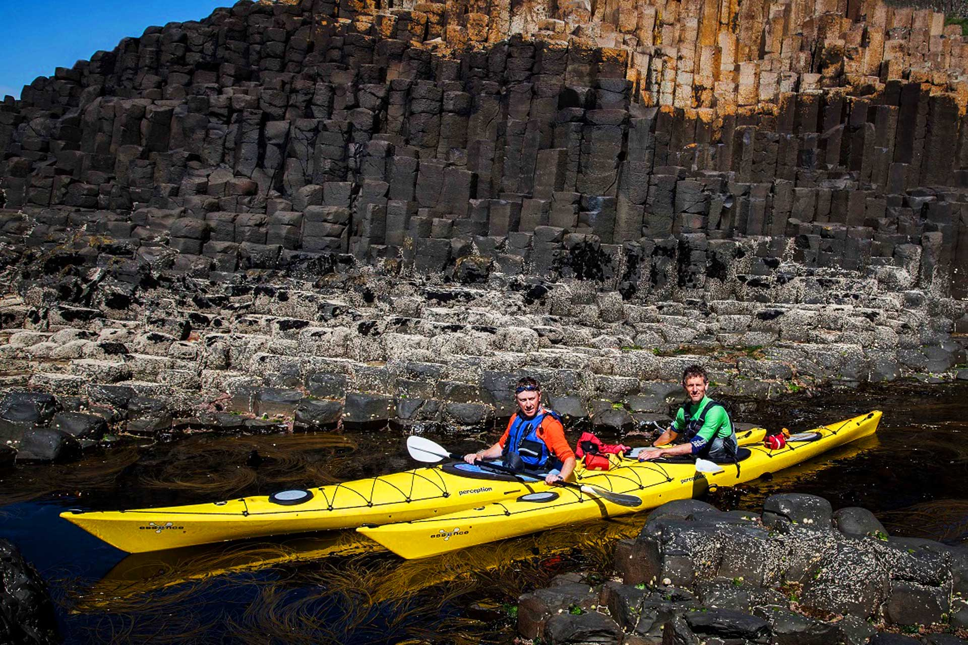 giants causeway sea kayaking experience