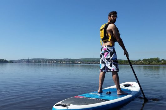 stand up paddle board derry
