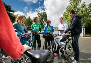 cycle sperrins tour visit